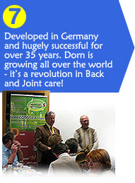 Dorn Method is growing around the world