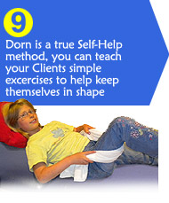 Dorn Method is a self help therapy